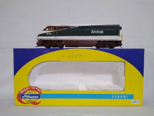 Imagen 1 de 10 de Nico Loco Diesel F59  Amtrak Northwest Athearn H0 (lha 03 )