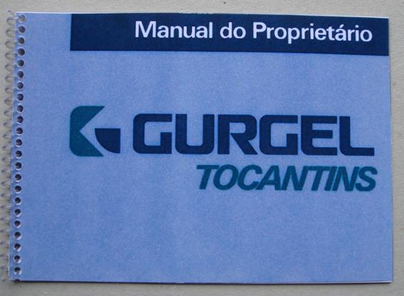 Manual Do Proprietário Gurgel Tocantins