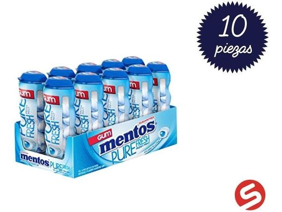 Mentos Gum Freshmint 10pzs/30grs