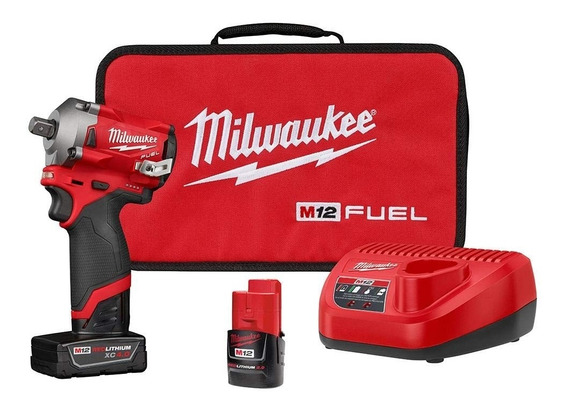 Chave De Impacto Comp Enc 1/2 12v Fuel Milwaukee - 2555p22