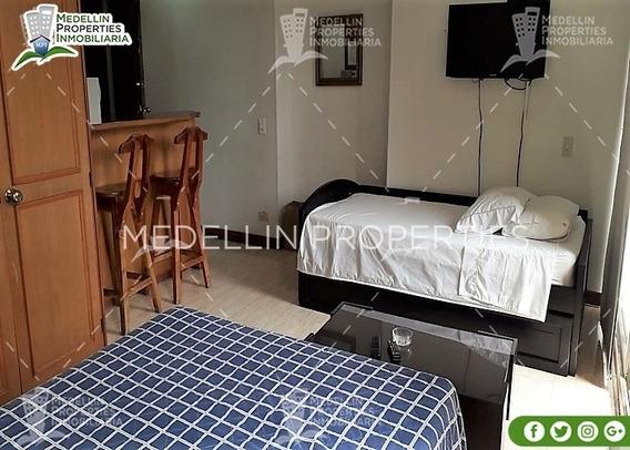Apartamentos Amoblados Economicos En El Poblado Cod: 5040