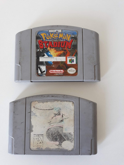 Cartucho Pokemon Stadium 64 + Wave Racer 64