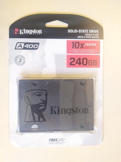 Ssd Kingston A400 240gb (novo)