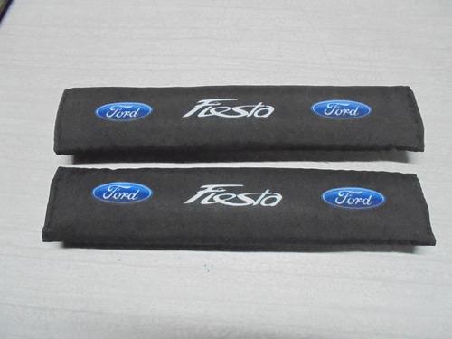Forro Cinturon De Seguridad Ford Fiesta Negro Claro
