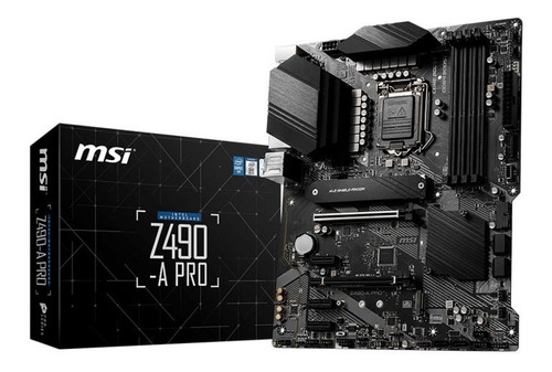 Board Msi Z490 A Pro 10th Generación Intel