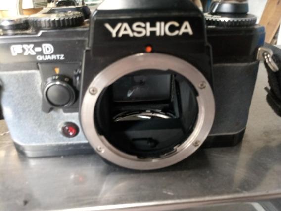 Camera Fotografica Yashica Fx D Quartz Restauro Retirar Peca