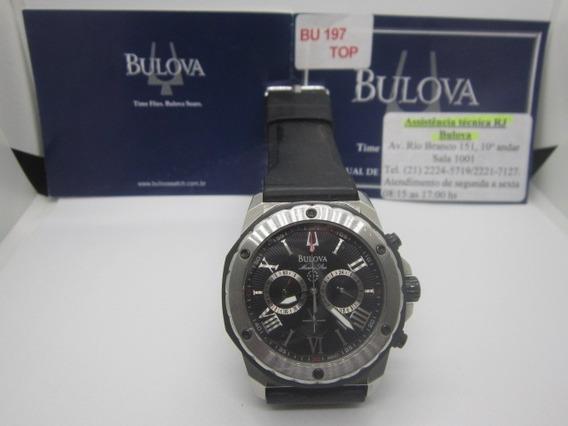 Relógio De Pulso Bulova Análogo Steel