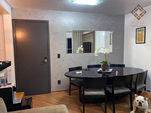 Apartamento Com 2 Dormitórios À Venda, 73 M² Por R$ 395.000,00 - Panamby - São Paulo/sp - Ap49776