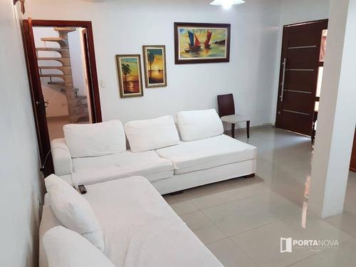 Casa Com 3 Dormitórios À Venda, 225 M² Por R$ 1.200.000,00 - Ferreira - São Paulo/sp - Ca0323