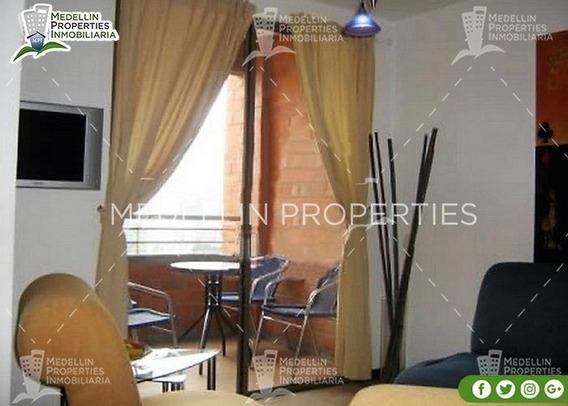 Arrendamientos De Apartamentos Baratos En Medellín Cód: 4375