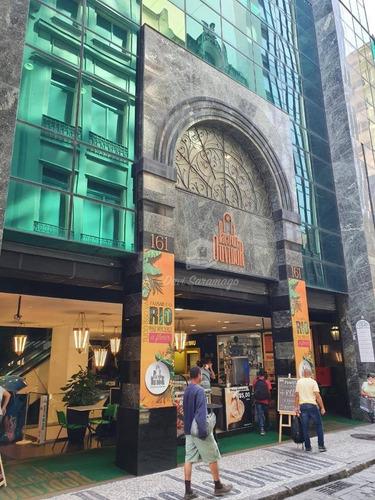 Sala À Venda, 40 M² Por R$ 180.000,00 - Centro - Rio De Janeiro/rj - Sa0026