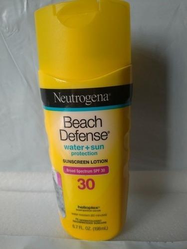 Protetor Solar Neutrogena Beach Defense Water+sun Fps 30