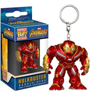 Pocket Pop Hulkbuster Avengers Infinity War Funko Keychain