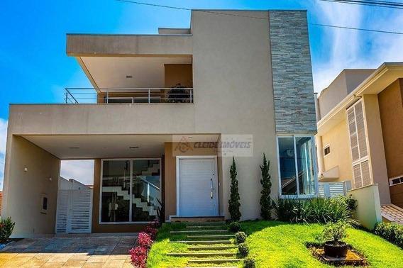 Casa Tipo Sobrado Com 5 Dormitórios À Venda, 374 M² Por R$ 1.390.000 - Condomínio Belvedere - Cuiabá/mt - So0198