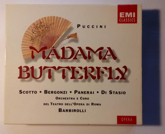 Puccini Box Imp 2cds Madama Butterfly 1994 Barbirolli Emi