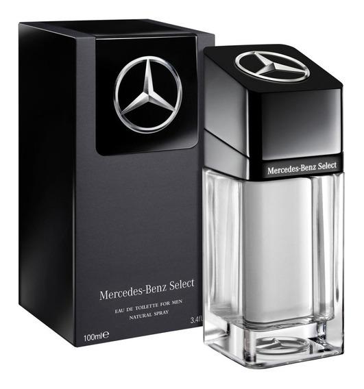 Mercedes Benz Select 100ml Masculino + Amostra De Brinde