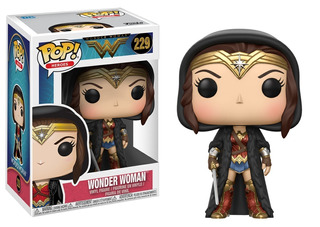 Funko Pop #229 - Wonder Woman - Dc Movie 2017 - Original