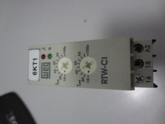 Rele Temporizador Rtw-ci01-u100se40 Weg