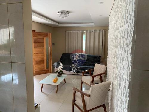 Casa Com 2 Dormitórios À Venda, 200 M² Por R$ 370.000,00 - Cruz De Rebouças - Igarassu/pe - Ca0430