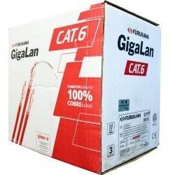 Cable Cat 6 Lszh Bobina Por 305 Mts