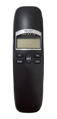 Imagen 1 de 4 de Teléfono fijo Select Sound 8338 negro