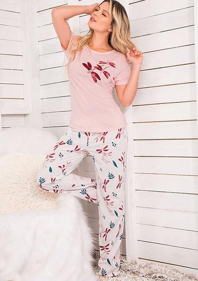 Pijama Libelula Multiuso Mujer Juvenil Pantalón Palo Rosa