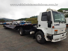 Ford Cargo 4030 4x2 Engatado Prancha Dambroz Plataforma 2000