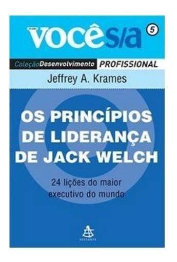 Os Princípios De Liderança De Jack Welch Livro Para Negócios