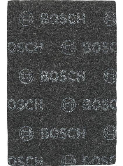 Paño Abrasivo De Limpieza Para Acabado Brillante Bosch Negro