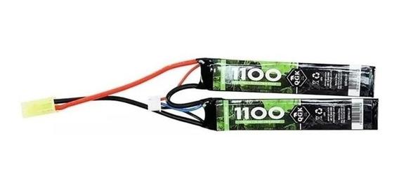 Bateria Lipo Recarregavel 7.4v 1100mah 2c Qgk