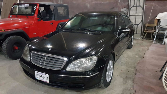 Mercedes-benz Clase S S600 Blindado Nivel7