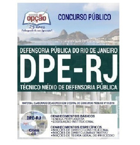 Apostila Concurso Dpe Rj 2019 Opção