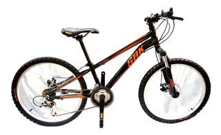 Bicicleta Sbk Bettridge Rodado 24 Shimano 7 Velocidades