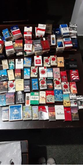 Coleccion De Cajas De Cigarrillos - Lote De 137 Unidades