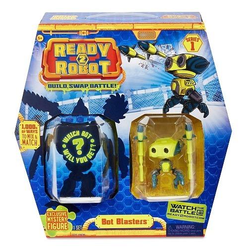 Ready 2 Robot Blasters Com Slime Robo Amarelo Candide