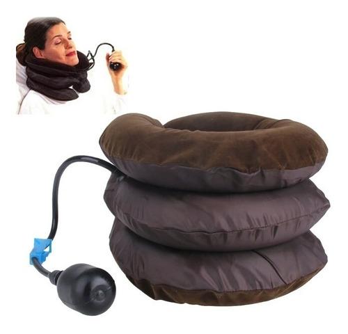 Imagem 1 de 6 de Colar Cervical Inflável Pneumático Para Proteção E Relaxar
