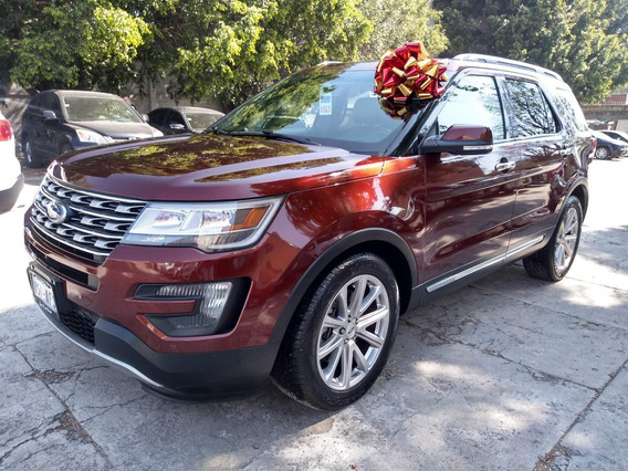 Ford Explorer Limited 2016 4x4!!! Piel Coco Panorámico!!!