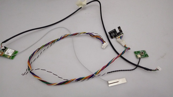 Kit Placa Wi Fi Botão Power Sensor Tv Philips 32phg5201/78