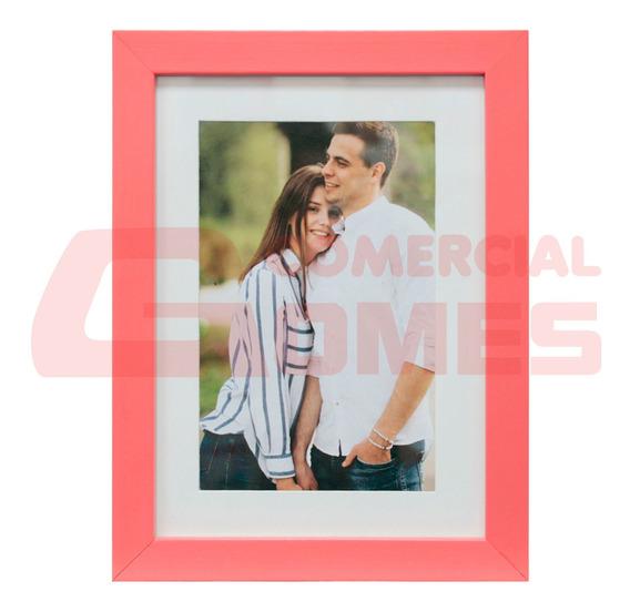 Porta Retrato Frame Insta Coral 15x21 Cm 68907