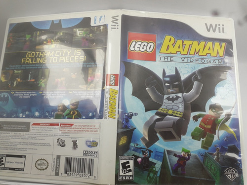 Lego Batman The Videogame Nintendo Wii Original