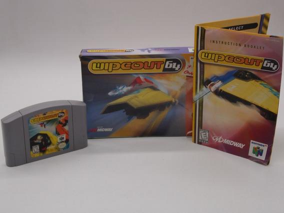 Wipeout 64 Nintendo 64 Original Mídia Física Com Caixa