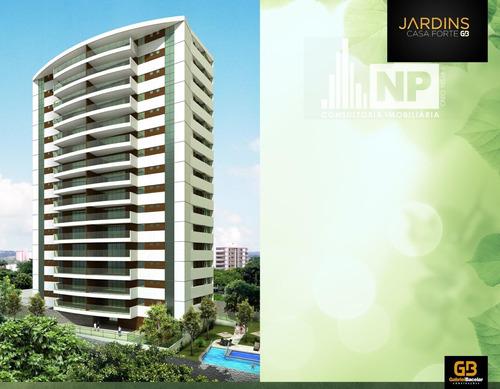 Apartamento Padrão À Venda Em Recife/pe - Gb06