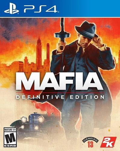 Mafia Definitive Edition Ps4 Juego Fisico Sellado Sevengamer