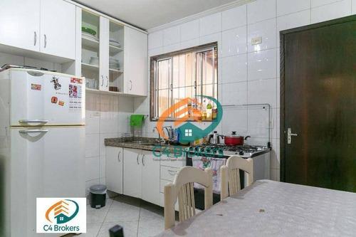 Imagem 1 de 25 de Sobrado Com 2 Dormitórios À Venda, 75 M² Por R$ 350.000,00 - Vila Progresso - Guarulhos/sp - So0868