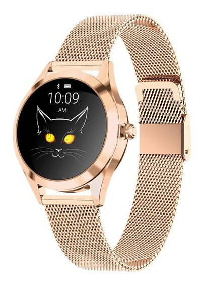Smart Watch Kw10 Moda Dama Ritmo Cardiaco Ip68 Ios Android