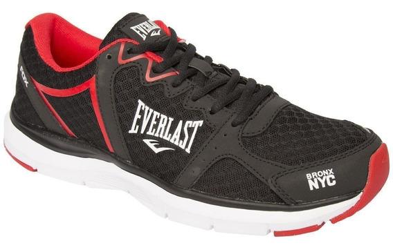 Tênis Everlast Fox Masculino Preto E Vermelho 100% Original