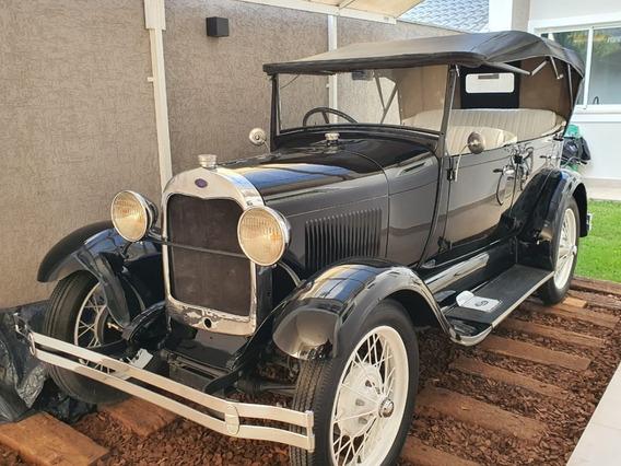 Ford 1929 Raridade Restaurado