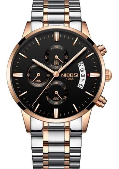 Relógio Masculino Nibosi Original A Prova D