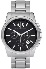 Relógio Armani Exchange Masculino Ax2084/1pn Mostruário