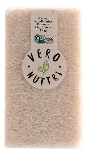 Imagem 1 de 2 de Arroz Agulhinha Branco Orgânico 1kg Vero Nuttri